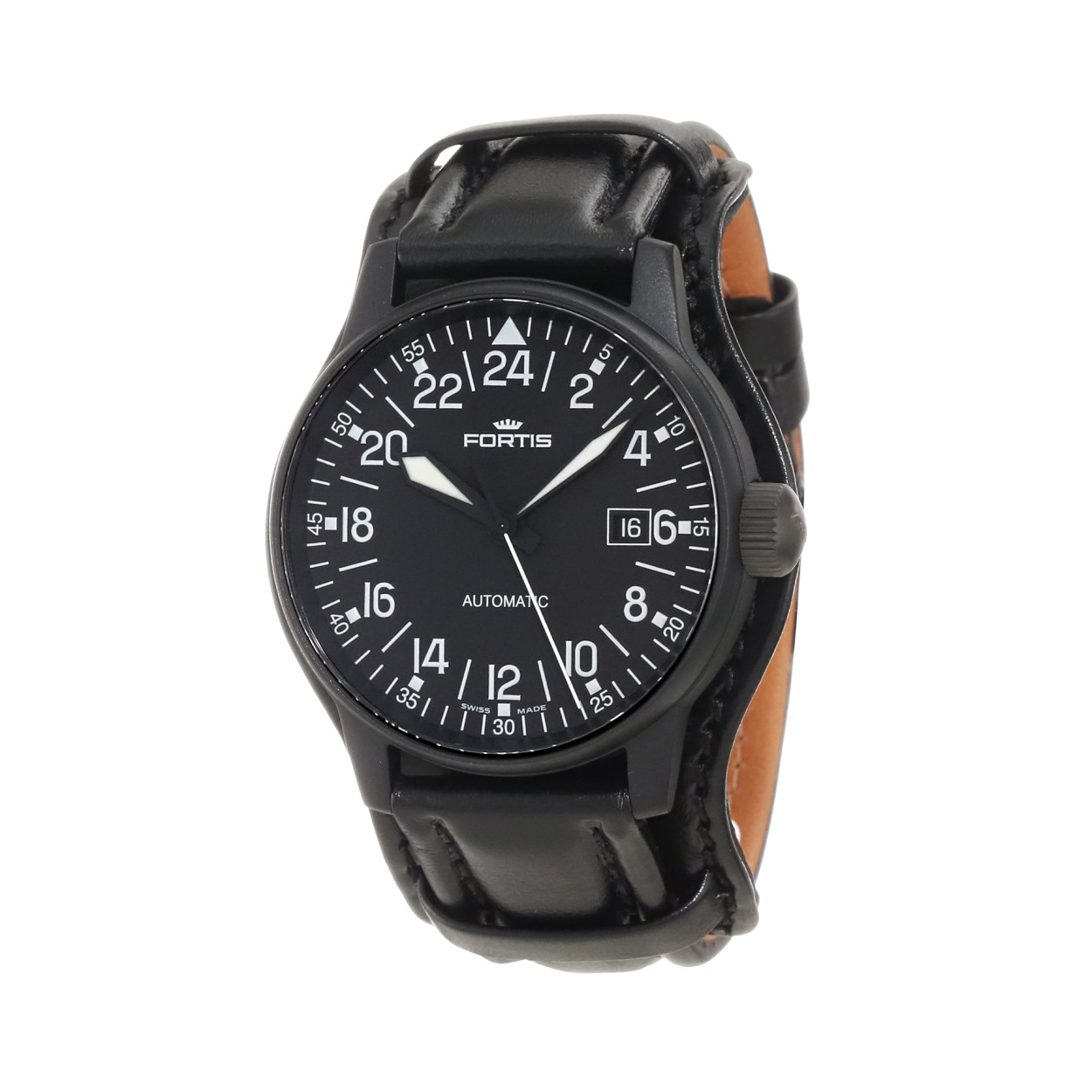 FORTIS FLIEGER BLACK 24H
