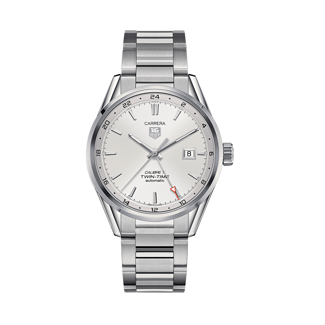 TAG HEUER CALIBRE 7 TWIN TIME AUTOMATIC